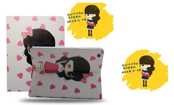 2014 new korea style cute case for girls for ipad 2 case