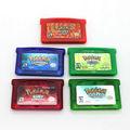 Caliente venta de pokemon tarjetas de juego para ndsl/gb/gbc/gbm/gba sp