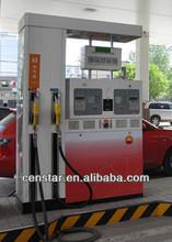four nozzle pump gas station self service fuel dispenser cs52