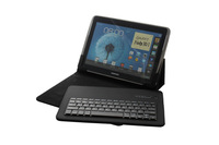 Wireless Bluetooth 11.6 inch tablet pc leather keyboard case Keyboard for Android Systerm