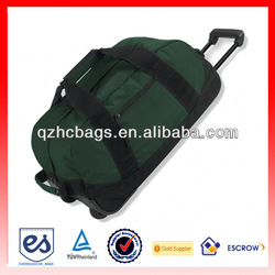 Fashion Rolling Duffel Bag with Trolley for Travelling (ESC-T011)