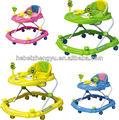 Baby walker/crianças andador plástico/formação baby walker