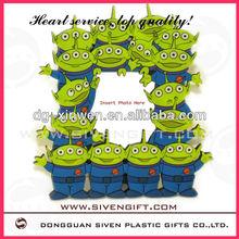 customized shape family 3d pvc photo holder for use