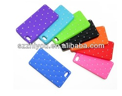 Star Silicone Soft Case for iPhone 5 New Diamond Star Series Silicone case for iphone 5s