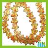 murano new design transparent flat star millefiori beads