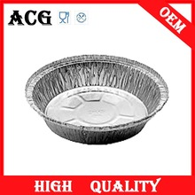airline food use aluminum pizza tray for microwave oven