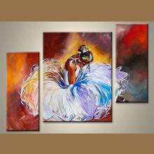Wholesale Handmade Girls Dancing Painting