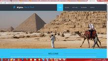 tours & travels based website design