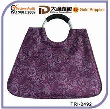 Fashional durable Circle handle nylon shopping bag