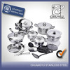 stainless steel hot new products for 2014 rachael ray cookware set