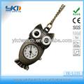 nova chegada de venda direta da fábrica de coruja antigo relógiodebolso com pingente de colar