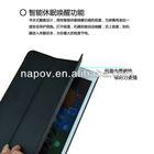 Napov-China Wholesale New Pattern Leather Flip Cover korea leather case for ipad mini