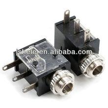 "Panel PCB 3.5mm 1/8"" Female TRS Headphone Jack Audio Mono Cable Plug,"