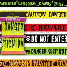 Halloween Fright Tape Party Decoration 30 Feet Undead Ahead Skull