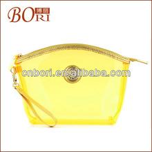 Fashion nylon travel cosmetic bags women caddi trolley bag