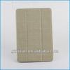 ivory textile fabric beauty luxury case for ipad mini