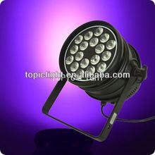 3in1 RGB 18x3w led stage light par 64 low power led light