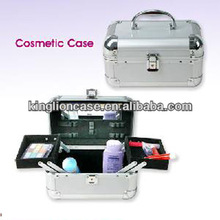 personal silver small jewelry makeup case KL-MC141