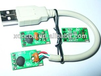 USB cable PCBA, design pcb+assembly for all kinds of electric products