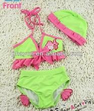 xxl oem odm custom bikini swimwear new kids sex 2014