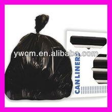 China yiwu hdpe or ldpe plastic heavy duty refuse bag