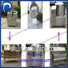automatic potato peeler and cutter machine fresh potato machine Snack Fryer Machine potato chips frying machine0086-18703683073