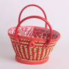 LUDA Wholesale Paper Straw Basket With Waterproof Lining