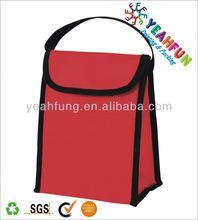 Reusable water bottle holder cooler bag