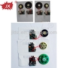 Button switch or sensor switch music card inserts recordable