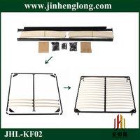 assembly wooden slats bed frame