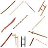 Martial Arts Training Weapon Bo, Rattan, Kama, Escrima, Kerambit, Tongfa, Shinai, Shoto, Tanto, Suburi Bokken, Tai-chi Sword
