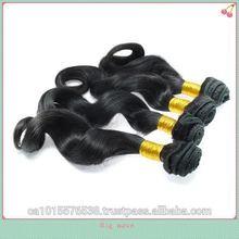 Cheap good quality Lovely hair 100% human hair no mix no shredding no tangle AAAAA brazillian human hair extensions