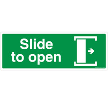 Slide to Open - Right - FE310