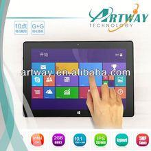 intel10.1inch z3770 tablet windows 8 1 9.7mm Thickness 2G 32G WIFI HDMI IPS 5MP camera Intel windows Tablet PC