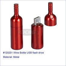 2014 Best Selling Wine Bottle USB flash drive