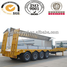 low bed semi trailers for transportation ,construction,mining,oil