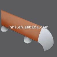 Hospital PVC Aluminum Escalator Rubber Handrail