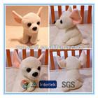 Plush cute dog toy soft Chihuahua
