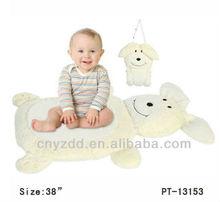 Plush baby play mat / Animal dog Soft Baby Play Mat