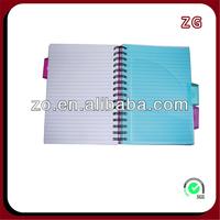 custom spiral notebook color paper