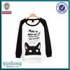 Fleece classic round collar neutral cheap 100 cotton crew neck sweatshirt