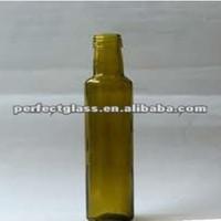200ml amber glass olive oil bottle/small glass bottles for olive oil