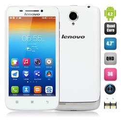 4.7 Inch Lenovo VIBE S650 Smartphone Android 4.2 RAM 1GB ROM 8GB MTK6582 Quad Core 1.3GHz Corning Gorilla Glass Screen Lenovo