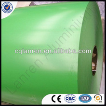 Color coated prepainted polyester PVDF aluminium coil