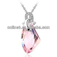 Crystal Fashion Pendant Necklace mangalsutra designs