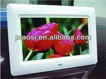 """7"""" mp3 frame / sex video audio digital photo picture frame hot animal and women sexy photos"""