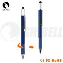 acrylic pen cup 2 in 1 metal stylus pen