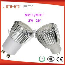 mini spot led light mr11 gu11 12v 2w led bulb lamp