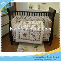 printed cotton bedding set for children