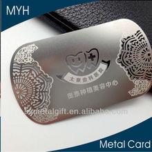 creative stainless steel visiting card metal